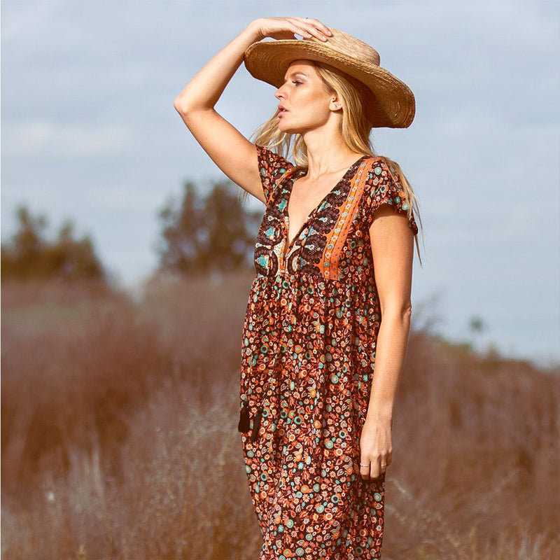 boho maxi-dress The Fox and the Mermaid