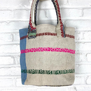Vintage Kantha Shoulder Bag