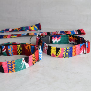 Woven Collar and Matching Lead