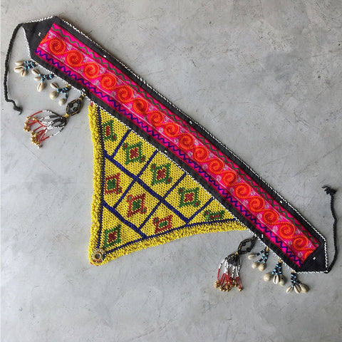 Vintage Tribal Afghani Belt