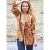 Kantha Jacket (XL) - The Fox and The Mermaid