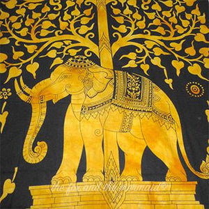 Elephant Tapestry - The Fox and The Mermaid