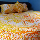 Mellow Yellow Tapestry Bedding - The Fox and The Mermaid - 1