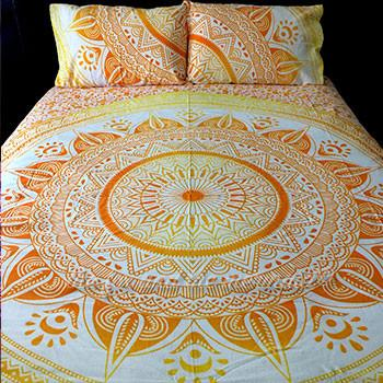 Mellow Yellow Tapestry Bedding - The Fox and The Mermaid - 2