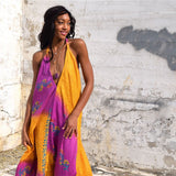 indian silk dress from vintage saree The Fox and the Mermaid