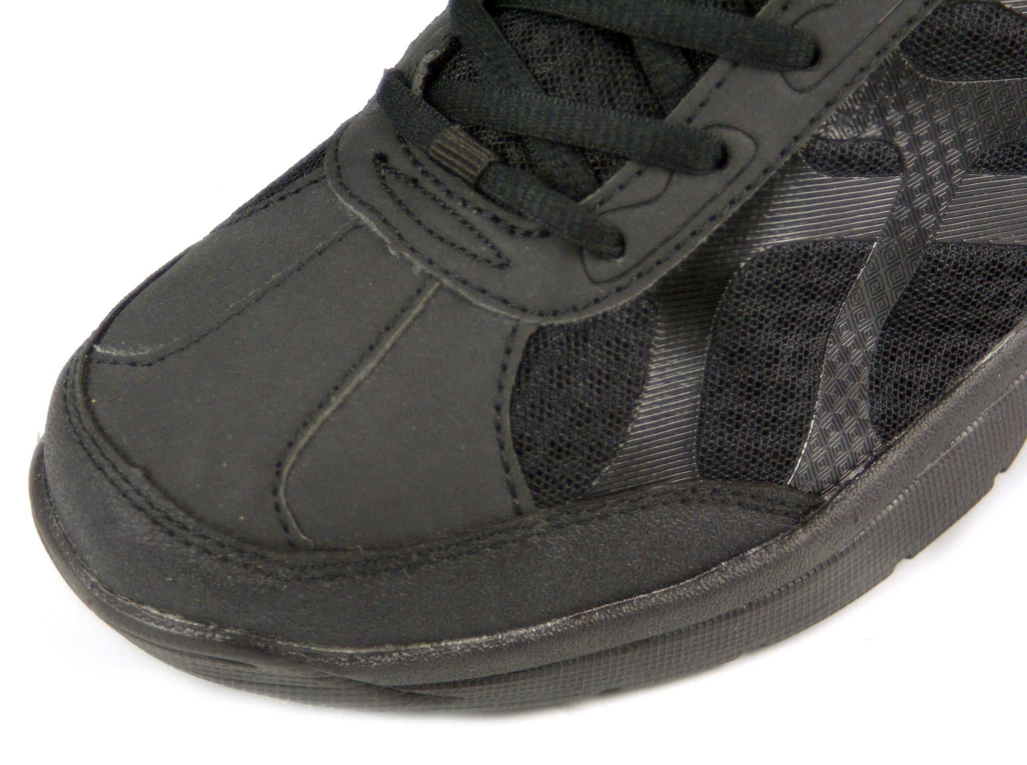 srs non slip and resistant leather flat work waitress