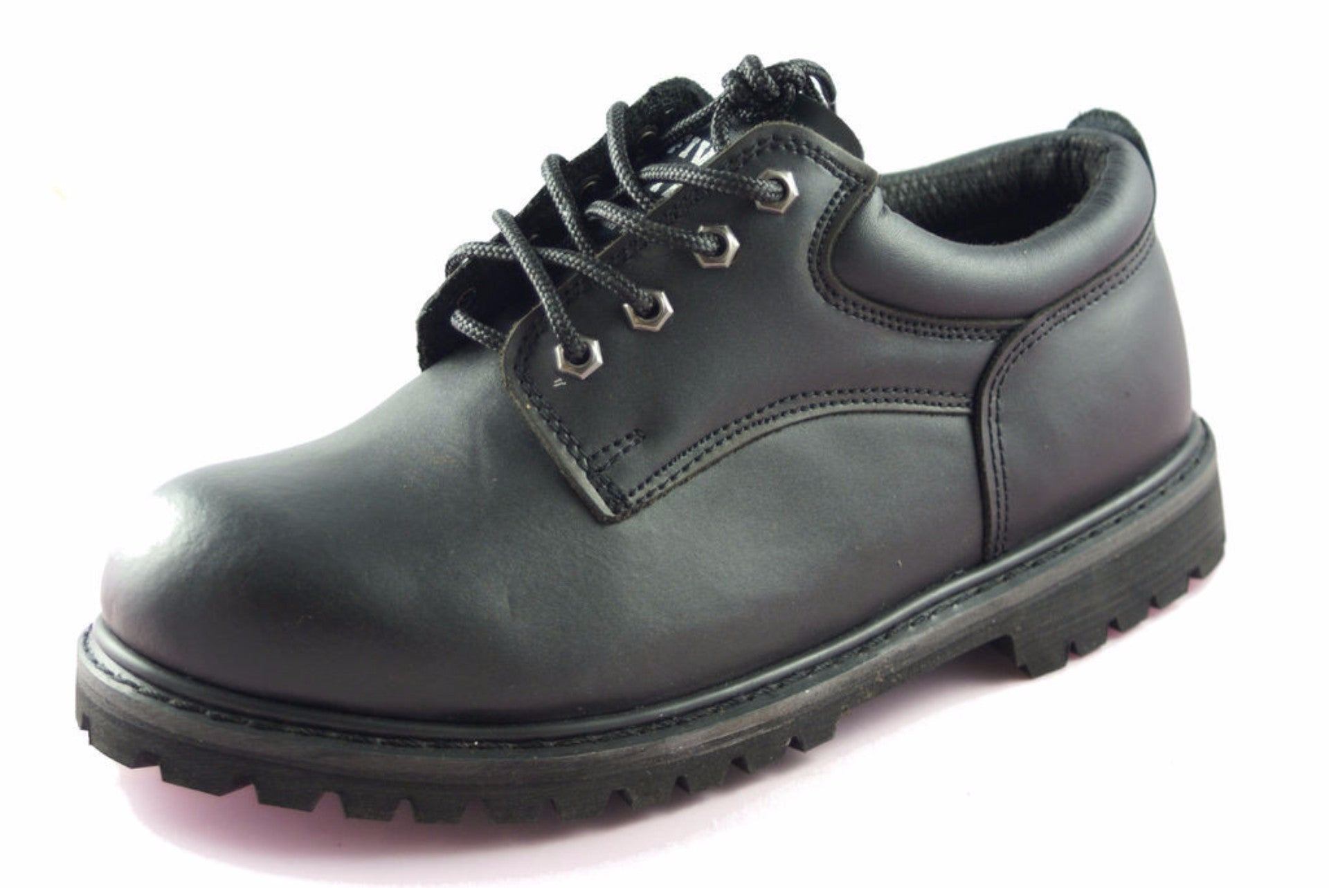 ca22ac30a5cb SRS Steel Toe Men s Slip Resistant Work Safety Lace up Shoes - Slip  Resistant Shoe
