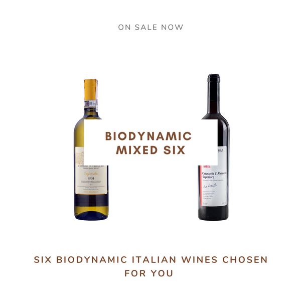 Italian Biodynamic mixed six - Chent'annos