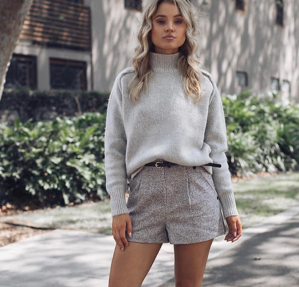 Ella Knit Jumper Grey