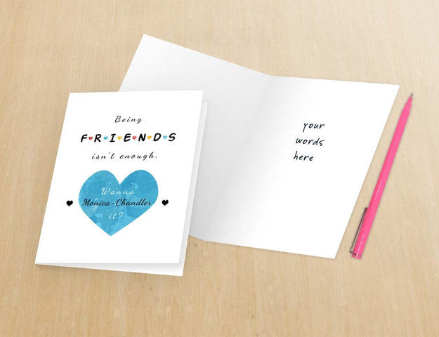 friends valentine's day card