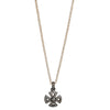 "Pavé Diamond Cross Pendant 16"" Necklace"