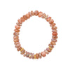 Sunstone and Vermeil Bracelet
