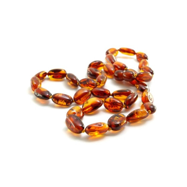 Cognac Baltic Amber Necklace