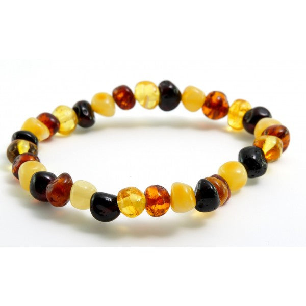 Multi Baltic Amber Bracelet