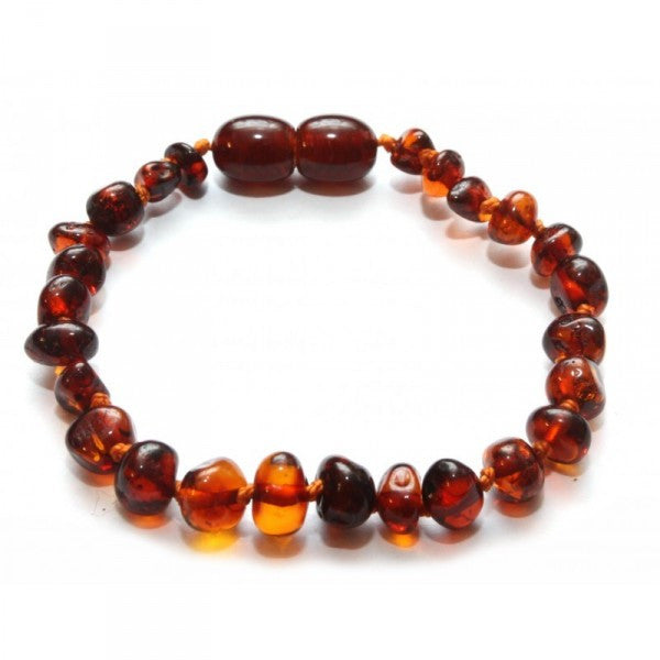 RED BALTIC AMBER BABY BRACELET