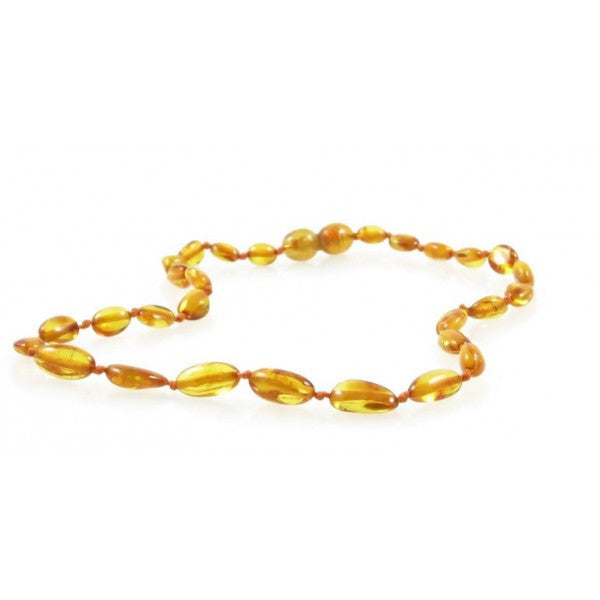 HONEY OVAL AMBER NECKLACES wholesale