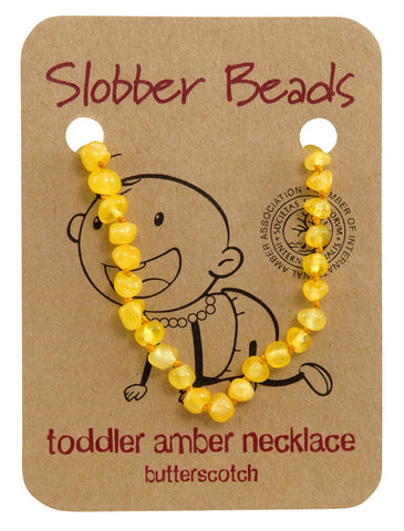Butterscotch Toddler Necklace