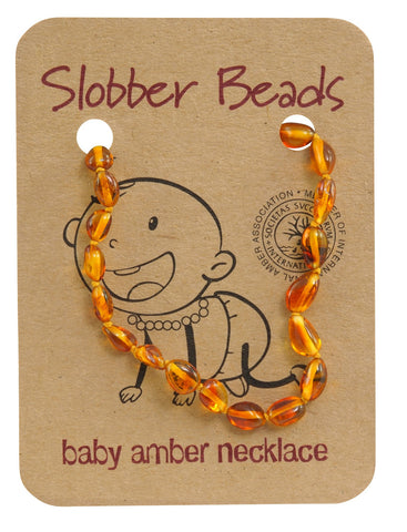 HONEY OVAL AMBER NECKLACES