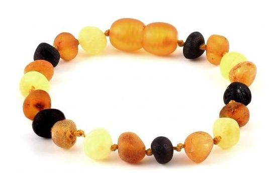 Raw MULTI AMBER BABY BRACELET  wholesale