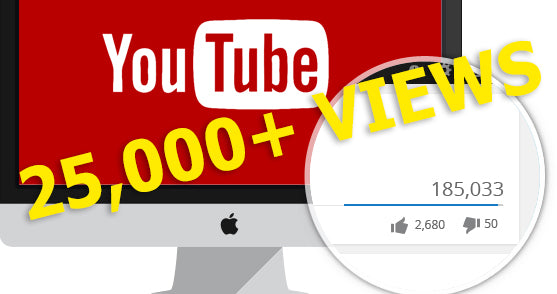 25,000 + Organic Views - YouTube & Google Video SEM : Search Engine Marketing
