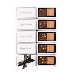 5 boxes of 2-piece Ginger Elizabeth chocolate bonbons