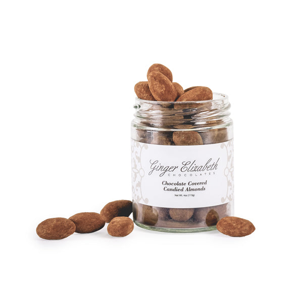 Chocolate Covered Candied Almonds