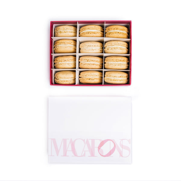 12-Piece Box of Macarons: Pistachio