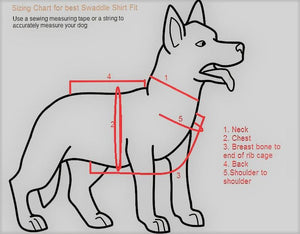 Measuring Hack for Sizing your Dog shirt