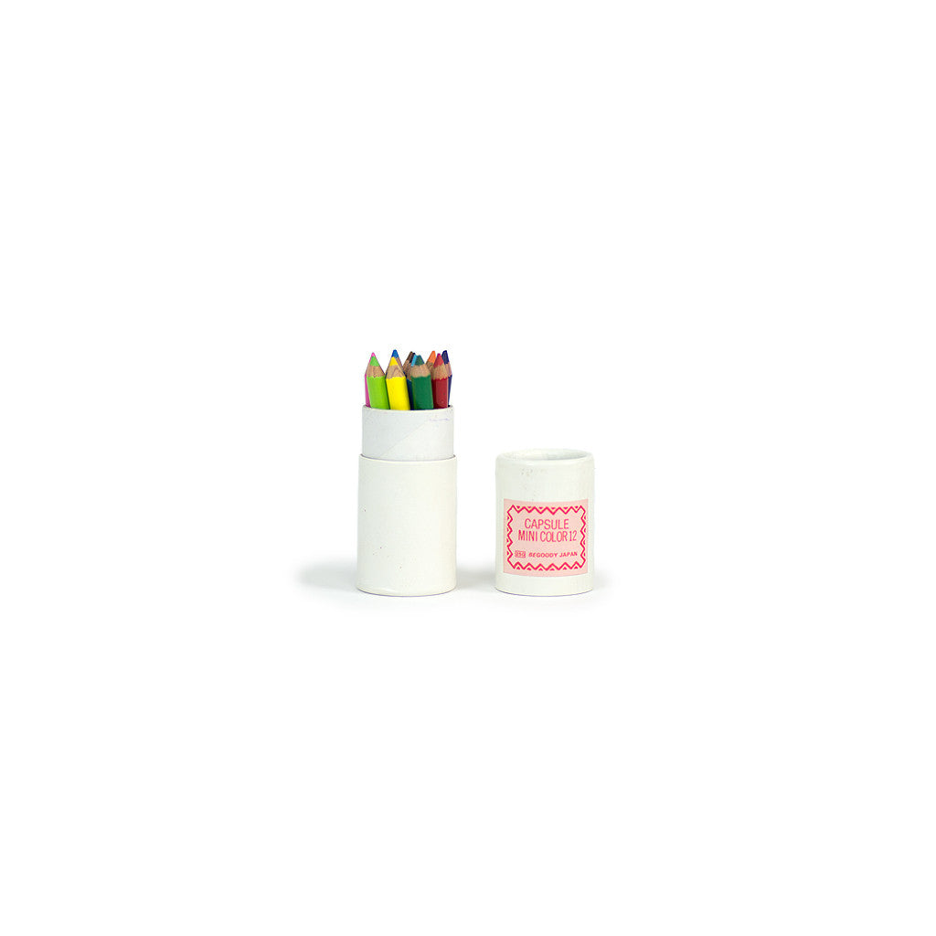 Capsule Mini Color - 12 pencil set
