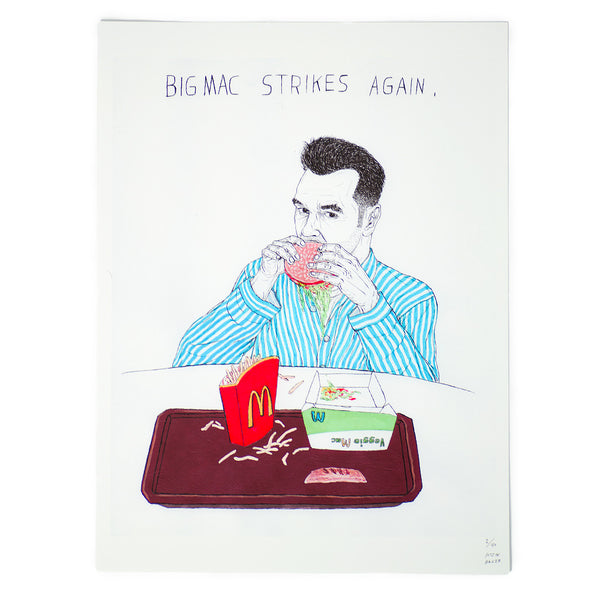 """Big Mac Strikes Again"" print by Justin Hager"