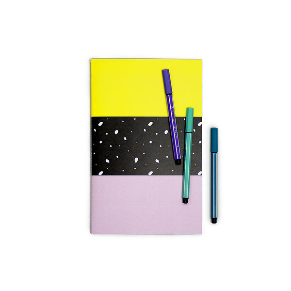 A5 Notebook - Yellow