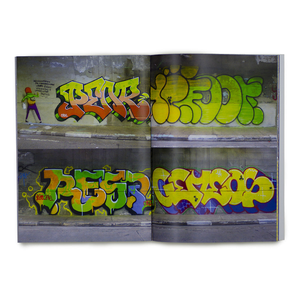 Resq 10 Foot Pear - South America Zine