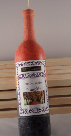 Candle Bottle Centerpiece- Pumpkinspice Aroma - Head Art Works
