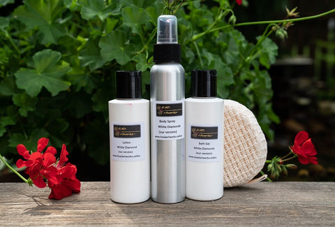 Scented Bath Set - Lotion, Bath Gel,Body Spray - Head Art Works