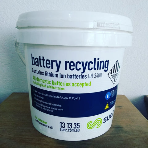 Vaporizer Battery Recycling Bin