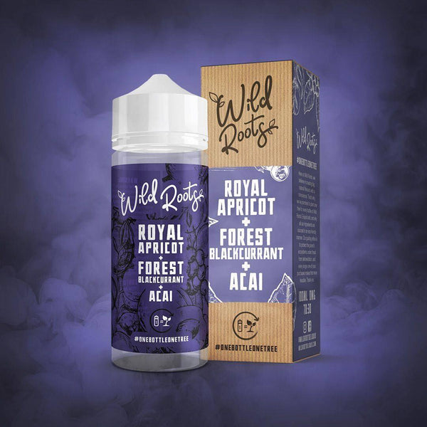 Wild Roots Royal Apricot, Forest Blackcurrant & Acai 100ml