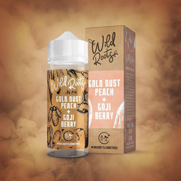 Wild Roots Gold Dust Peach & Goji Berry 100ml