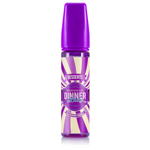 Dinner Lady Blackberry Crumble Vape Juice 60ml
