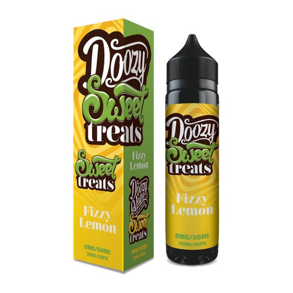 Doozy Vape Co Fizzy Lemon Vape juice 60ml