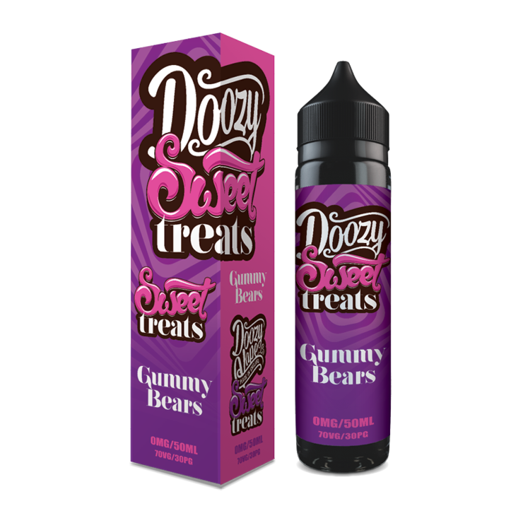 Doozy Vape Co Gummy Bears 60ml - e liquid