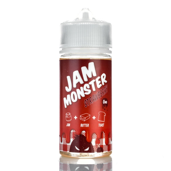 Jam Monster Vape Juice Strawberry 100ml