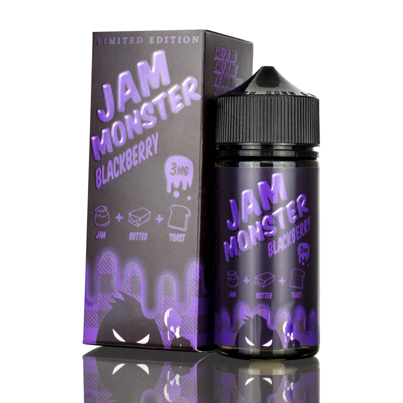 Jam Monster Blackberry 100ml (Limited Edition)