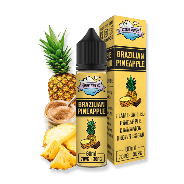 Sydney Vape Co Brazilian Pineapple Vape Juice