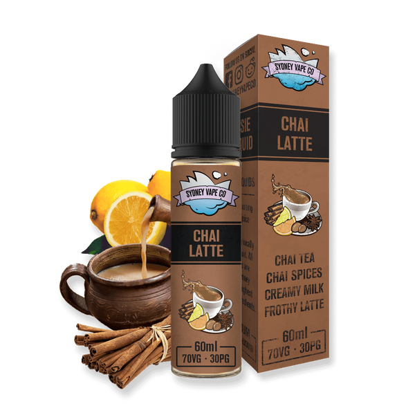 Sydney Vape Co e liquid Chai Latte