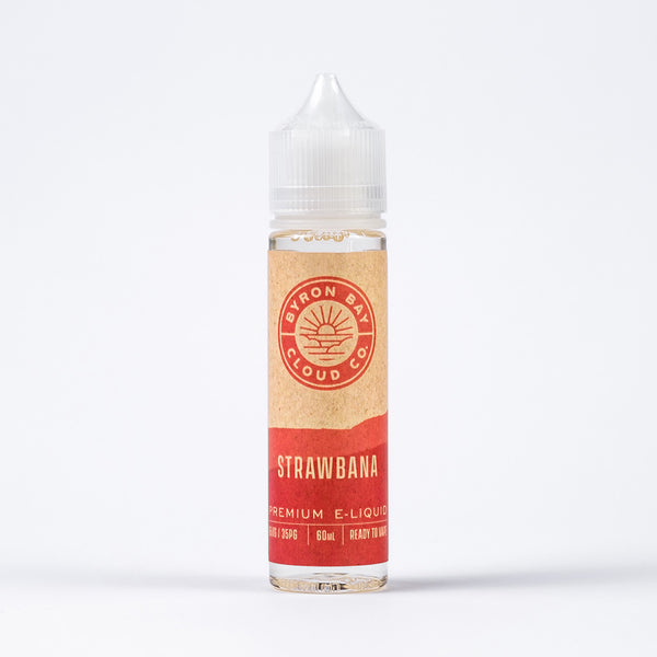 Byron Bay Cloud Co Strawbana - e liquid