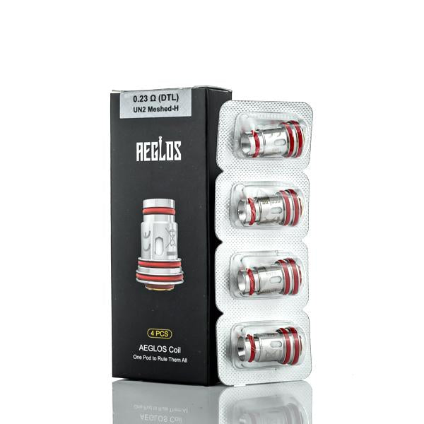 Uwell Aeglos Replacement Coils 4 Pack