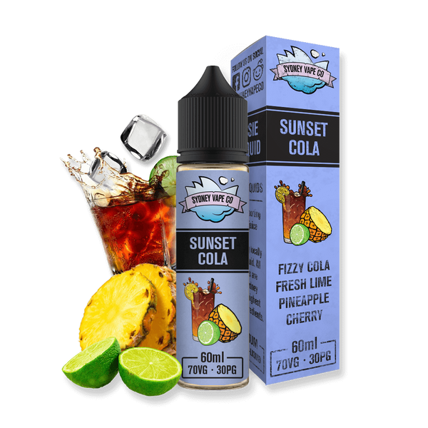 Sydney Vape Co Sunset Cola e liquid