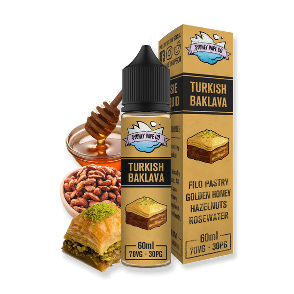 Sydney Vape Co Turkish Baklava e liquid
