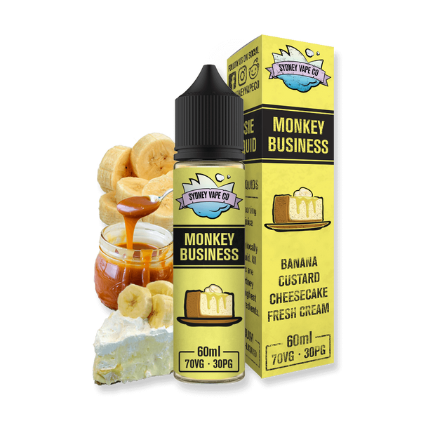 Banana cheesecake Vape Juice - eliquid
