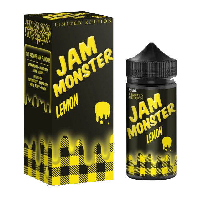 Jam Monster Lemon e juice 100ml (Limited Edition)